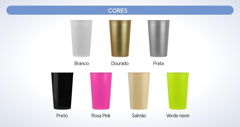 copo aluminio 570 ml personalizado cores