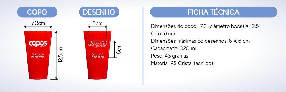 copo caldereta personalizado especificacoes