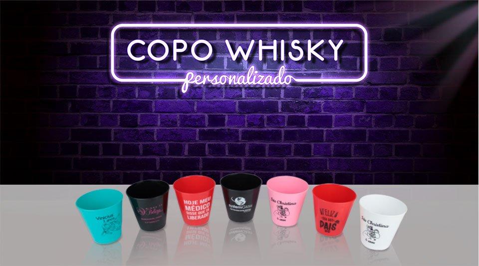 banner neon copo caldereta whisky