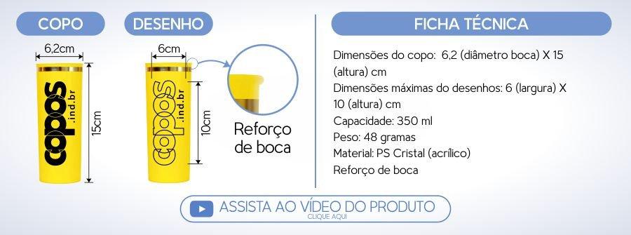 copo personalizado long drink 350 acrilico borda especificacoes