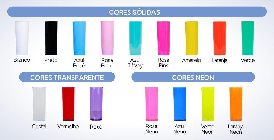 copo long drink personalizado tampa cores