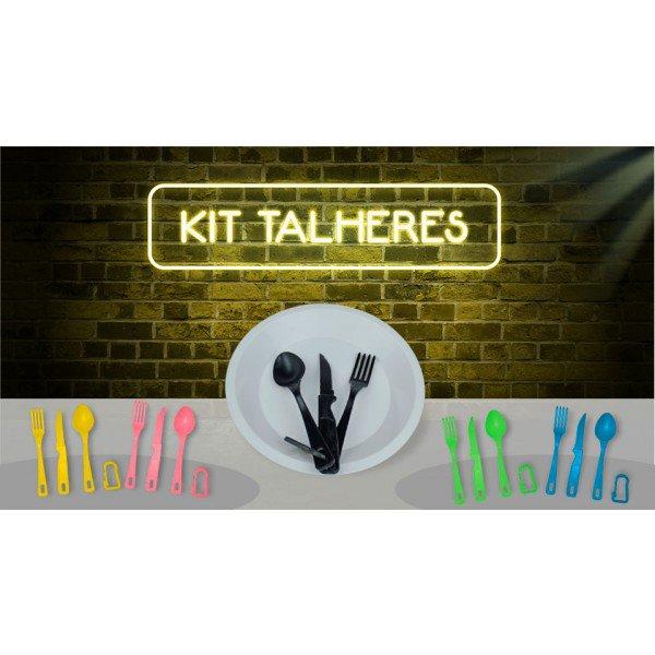 banner kit talheres