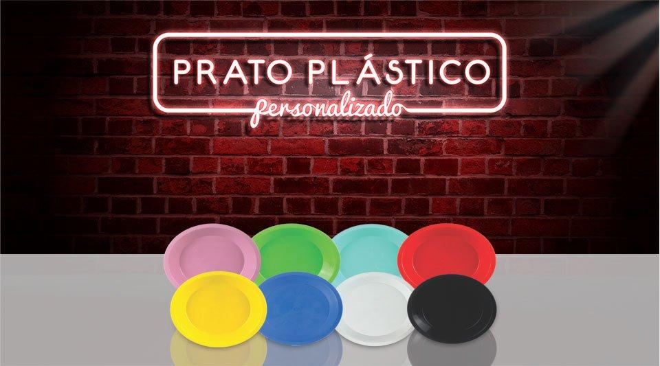 banner prato plastico
