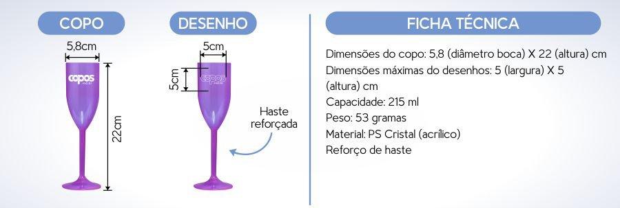 taa champagne personalizada 215 acrilico ESPECIFICACOESPlataforma
