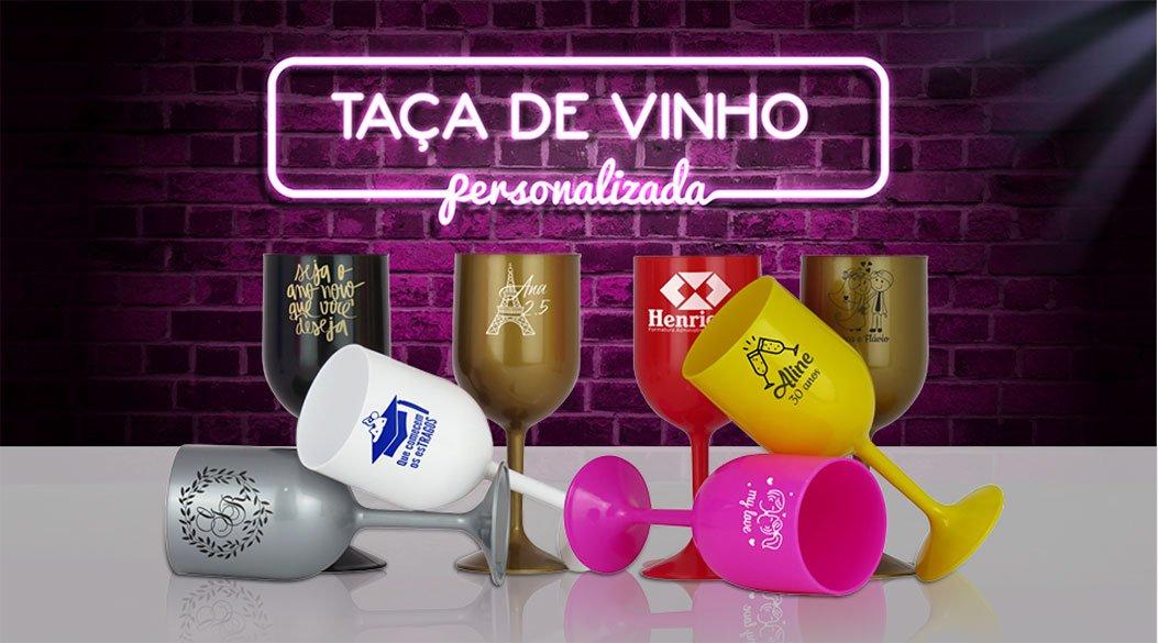 Banner Neon Taa de Vinho ELO7