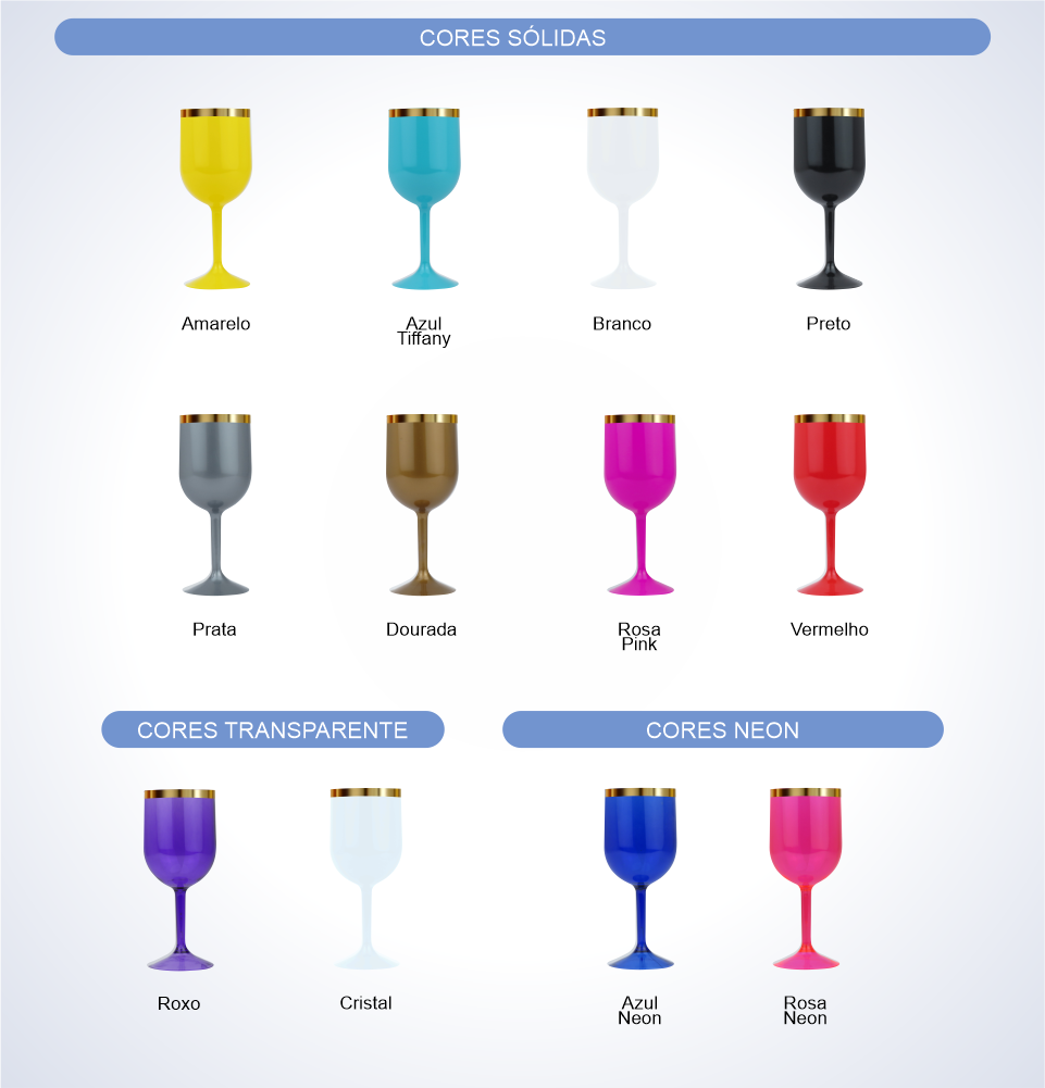 cores taca vinho com borda