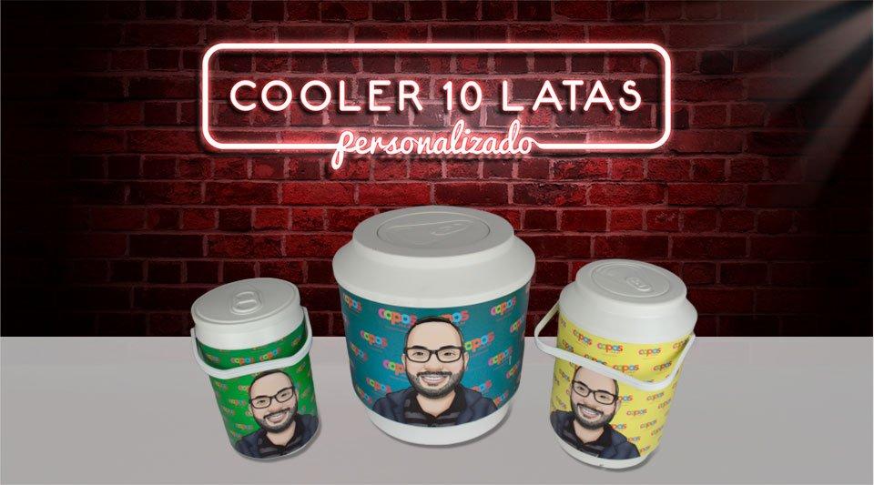 Banner Cooler 10 Latas