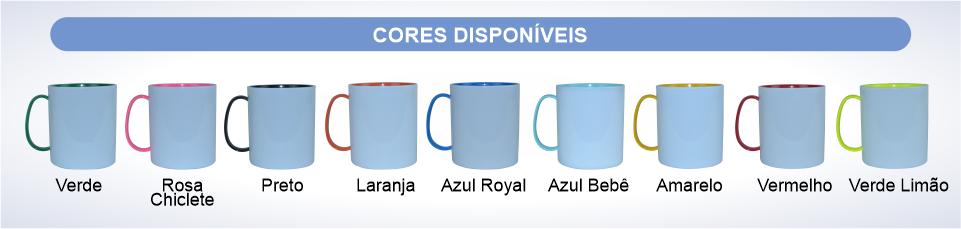 tabela cores disponivel