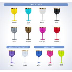 tabela cores taca gin borda
