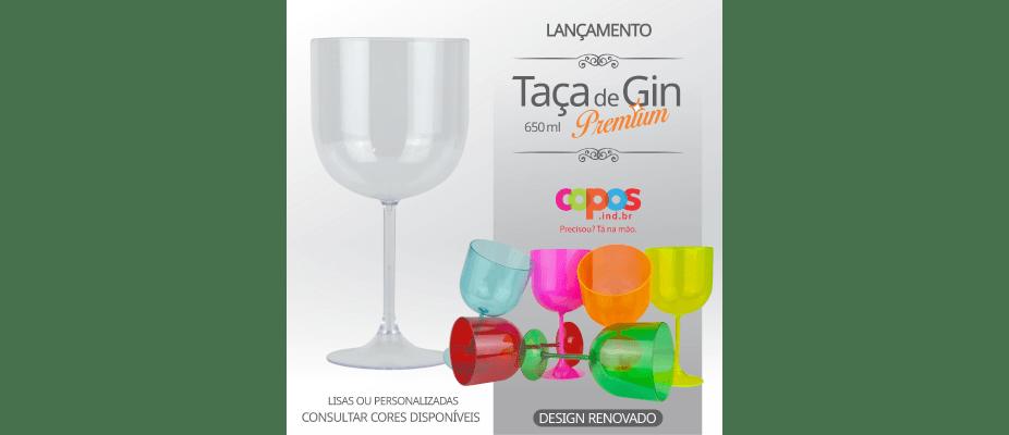 Nova Taça de Gin 650 ml Premium