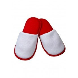 pantufa vermelha