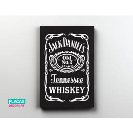 placa decorativa jack
