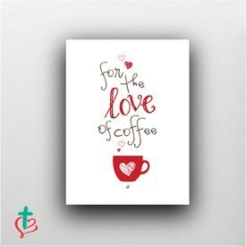 placa decorativa amo cafe decora cristao