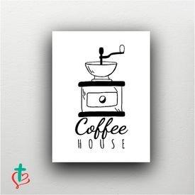 placa decorativa coffee house decora cristao