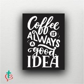 placa decorativa coffee is decora cristao