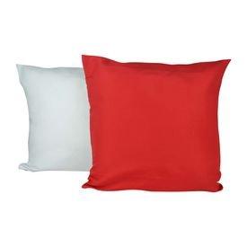 capa de almofada vermelho loja copos